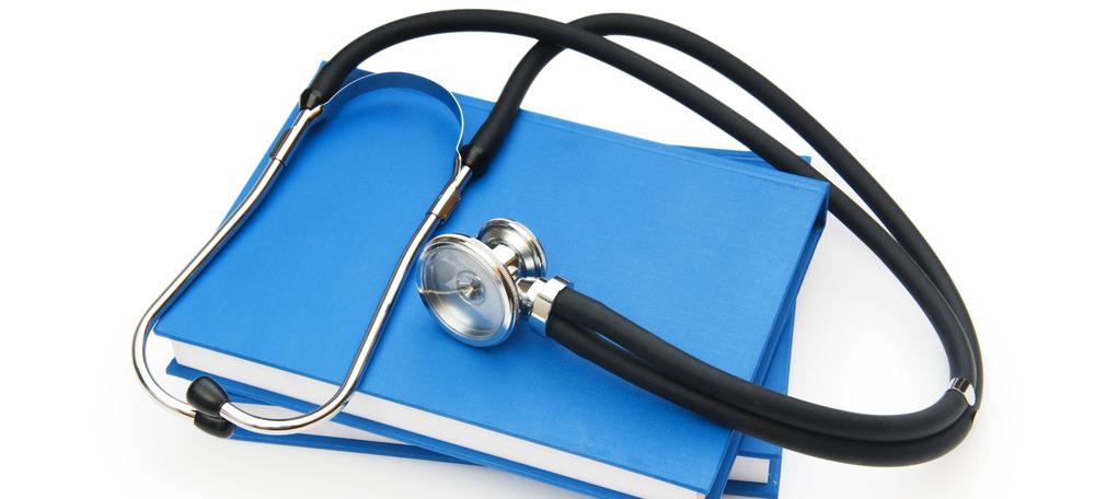 Stetoskop og notesbøger